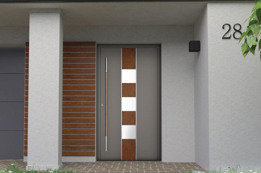 Drzwi wejściowe nadkładkowe wzór NT-69N