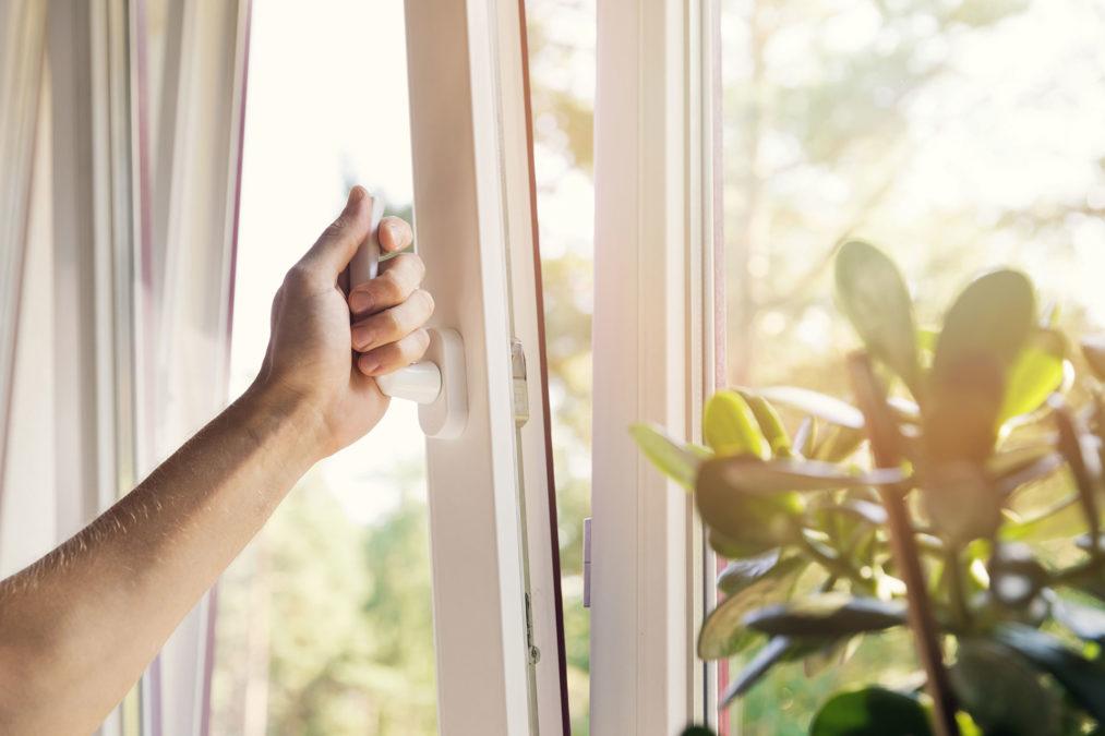 Uchylanie okien