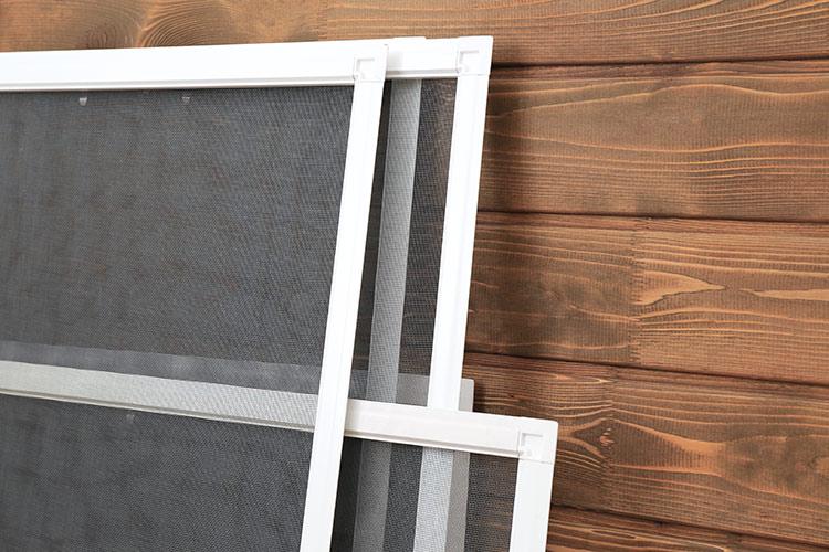 Aluminiowe moskitiery ramkowe