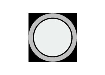 Okrągłe okienko I1 w bramie segmentowej