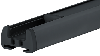 Antracyt RAL-7016 - kolor profilu rolety plisowanej