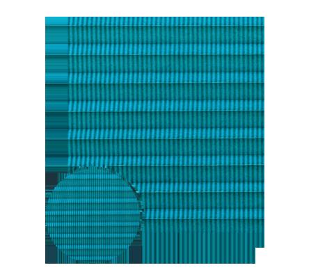 Awangarda 09 - kolor materiału rolety plisowanej