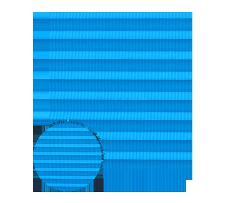Awangarda 21 - kolor materiału rolety plisowanej