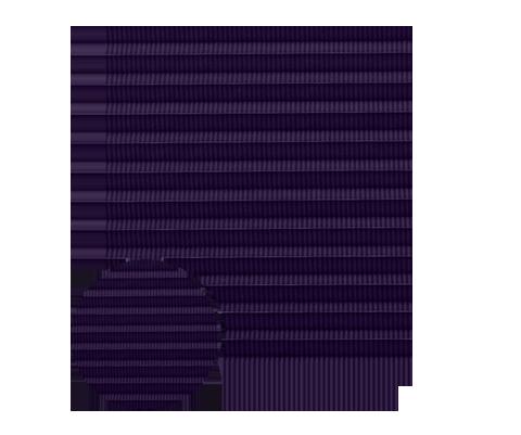 Awangarda 24 - kolor materiału rolety plisowanej