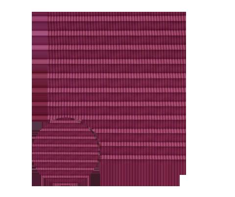 Awangarda 25 - kolor materiału rolety plisowanej