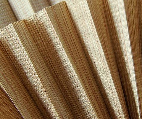 Bamboo P604 - kolor materiału rolety plisowanej