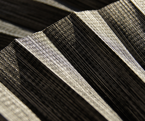 Bamboo P609 - kolor materiału rolety plisowanej