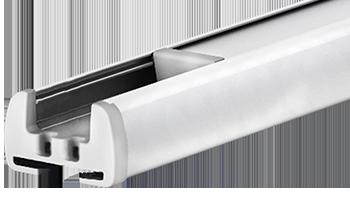 Biały RAL-1014 - kolor profilu rolety plisowanej