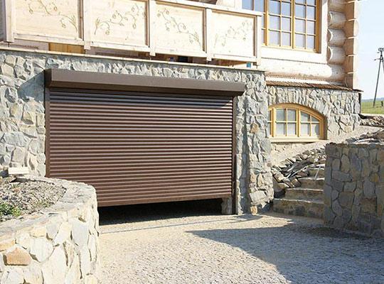 Brama rolowana do garażu