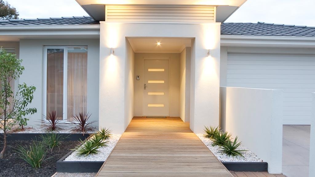 Drzwi wejściowe PVC
