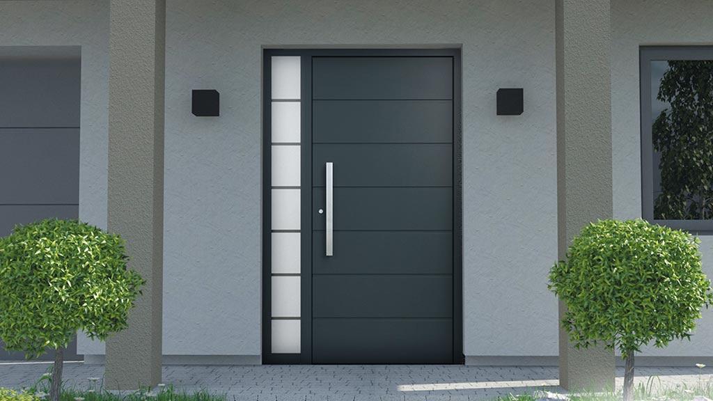 Drzwi aluminiowe wzór NT-15N