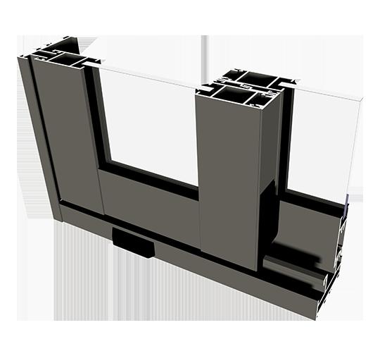 Systemy przesuwne aluminiowe Ecoslide