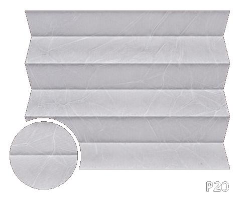 Kamari 20 - kolor materiału rolety plisowanej