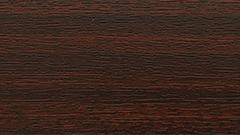 Mahoń - kolor osprzętu rolet wewnętrznych