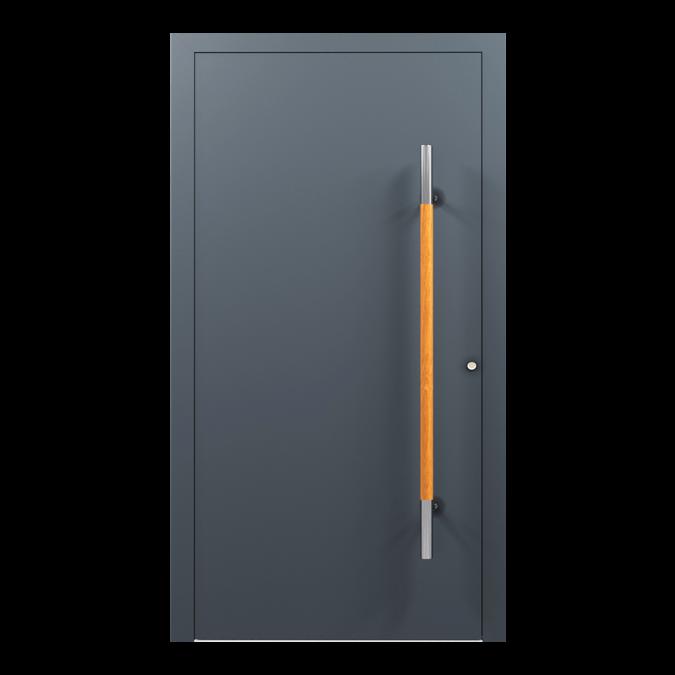 Drzwi zewnętrzne aluminiowe wzór-NT-01N