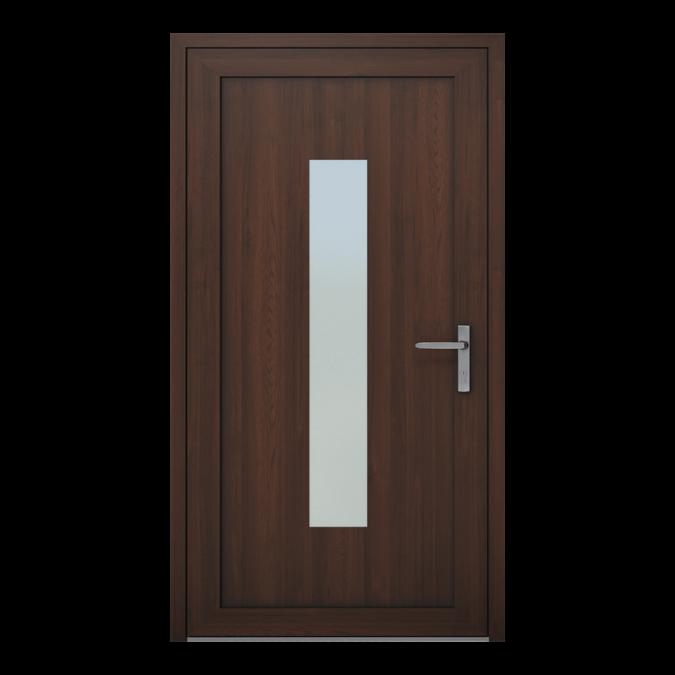 Drzwi zewnętrzne PVC wzór-NT-01W