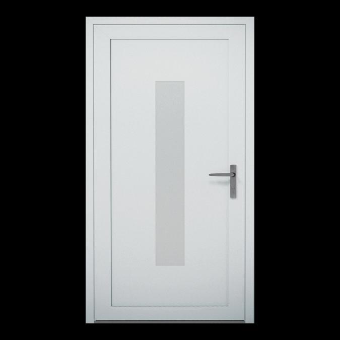 Drzwi zewnętrzne aluminiowe wzór-NT-01W