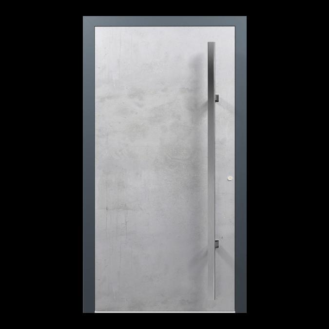 Drzwi zewnętrzne aluminiowe wzór-NT-02N