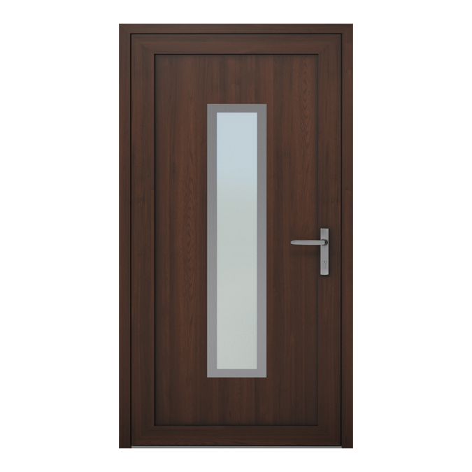 Drzwi zewnętrzne PVC wzór-NT-02W
