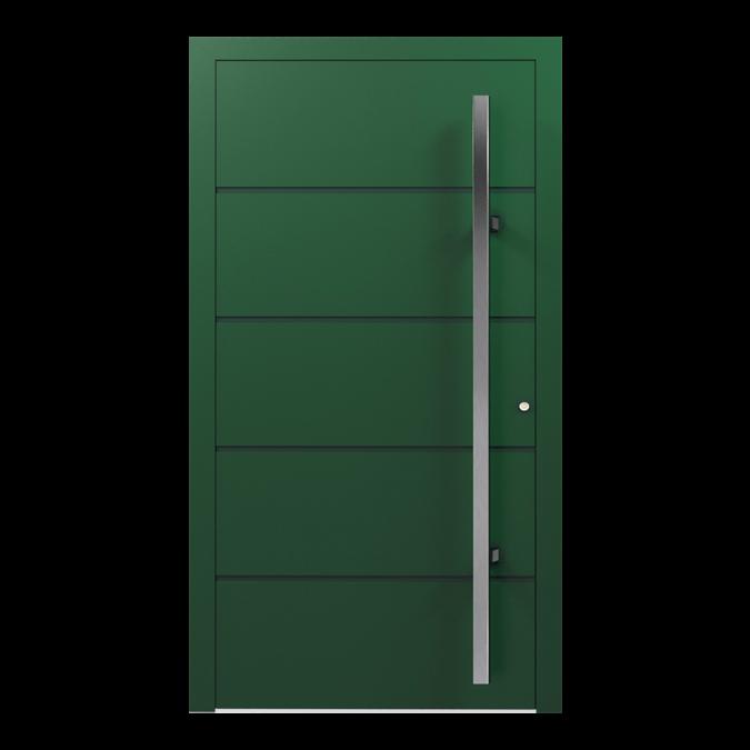 Drzwi zewnętrzne aluminiowe wzór-NT-03N