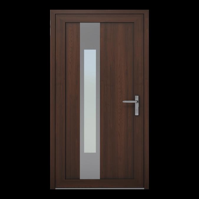 Drzwi zewnętrzne PVC wzór-NT-03W