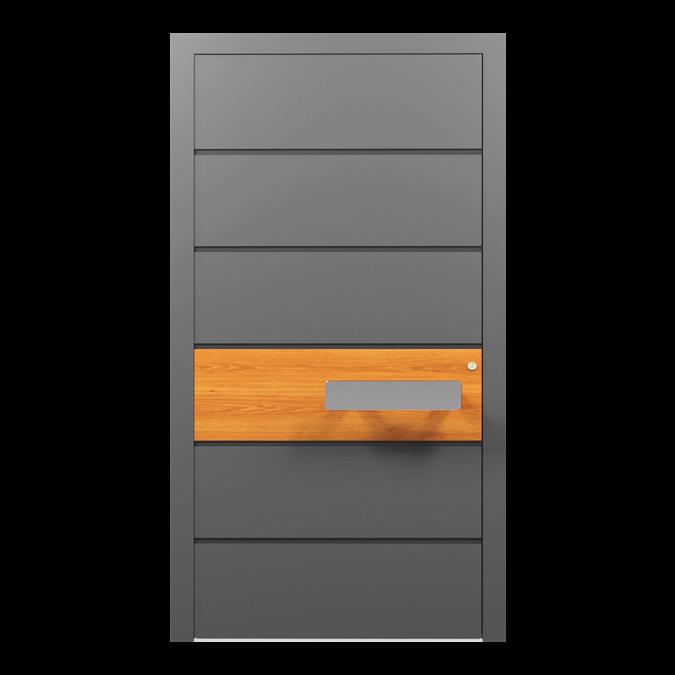 Drzwi zewnętrzne aluminiowe wzór-NT-04N