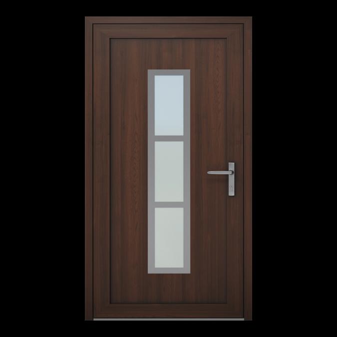 Drzwi zewnętrzne PVC wzór-NT-04W