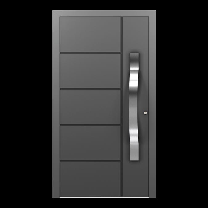 Drzwi zewnętrzne aluminiowe wzór-NT-05N