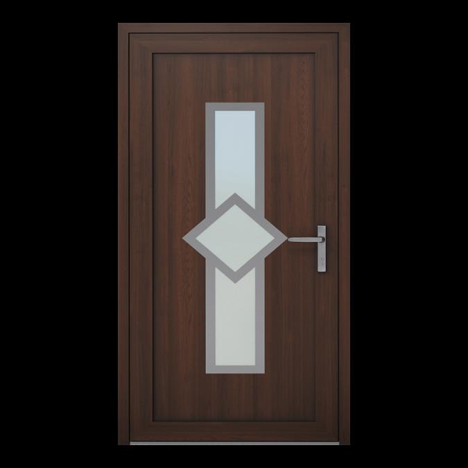 Drzwi zewnętrzne PVC wzór-NT-05W