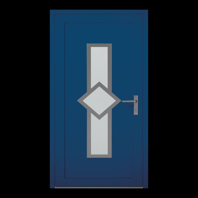 Drzwi zewnętrzne aluminiowe wzór-NT-05W