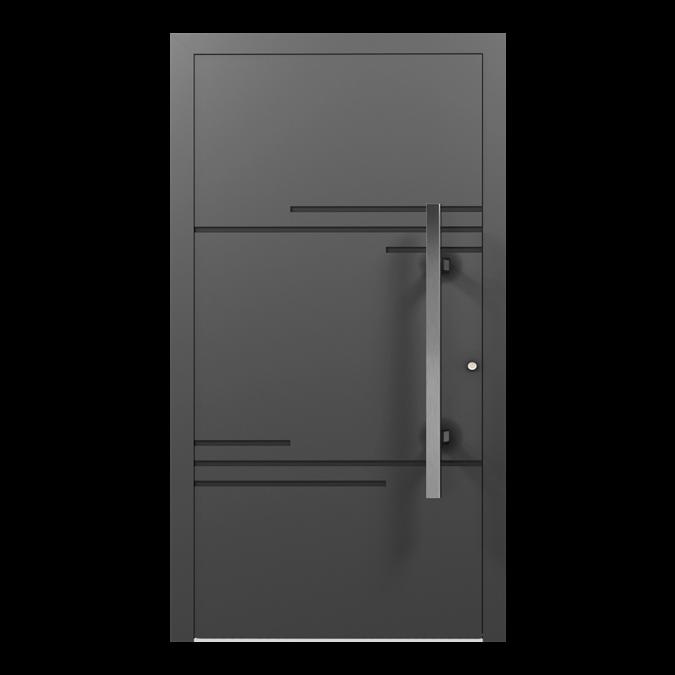Drzwi zewnętrzne aluminiowe wzór-NT-06N
