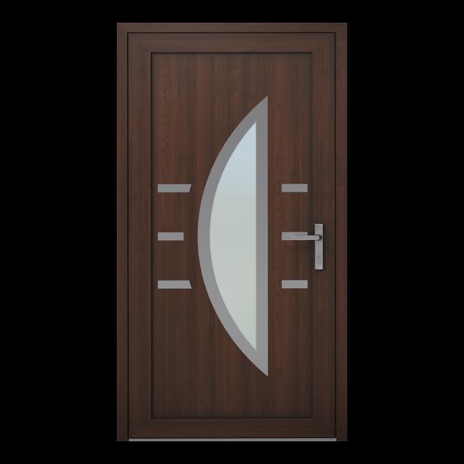 Drzwi zewnętrzne PVC wzór-NT-06W