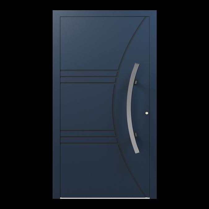 Drzwi zewnętrzne aluminiowe wzór-NT-07N