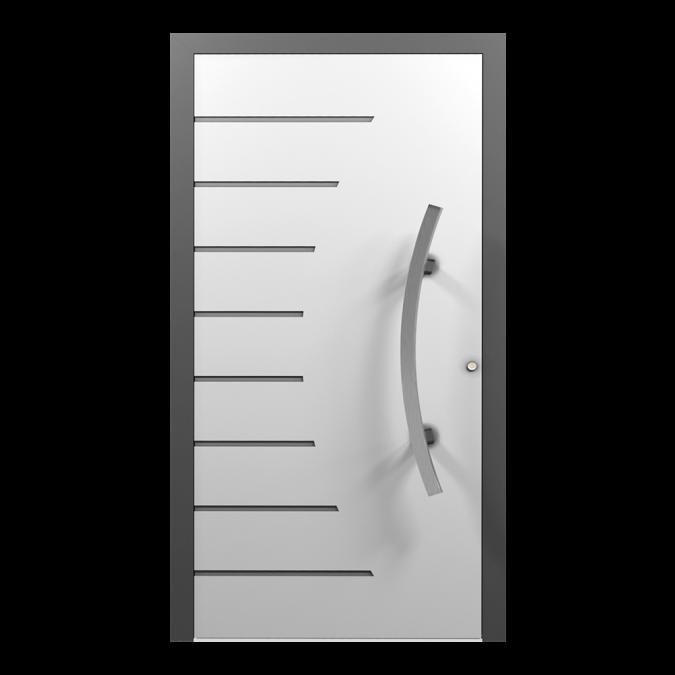 Drzwi zewnętrzne aluminiowe wzór-NT-08N