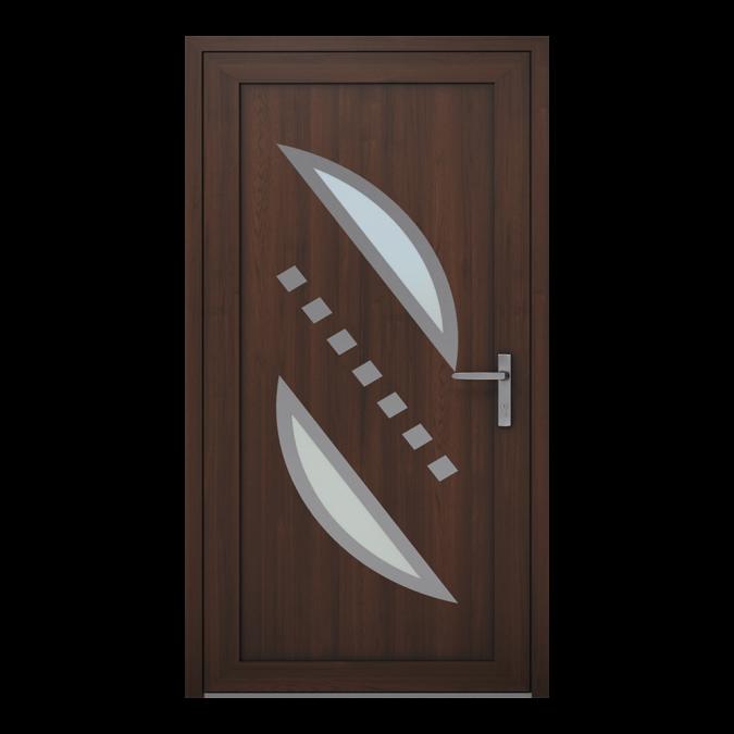 Drzwi zewnętrzne PVC wzór-NT-08W