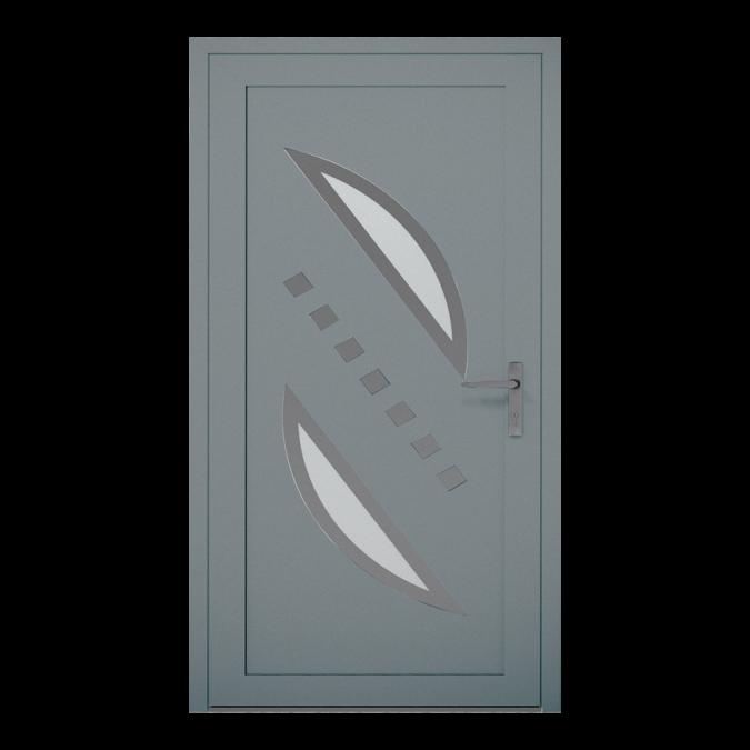 Drzwi zewnętrzne aluminiowe wzór-NT-08W