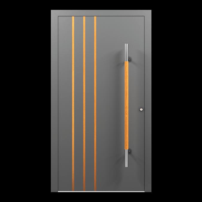 Drzwi zewnętrzne aluminiowe wzór-NT-09N