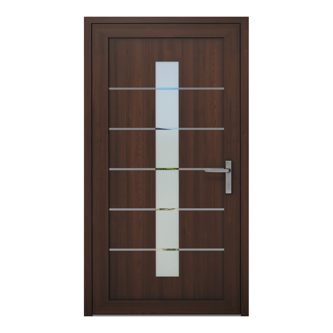 Drzwi zewnętrzne PVC wzór-NT-09W