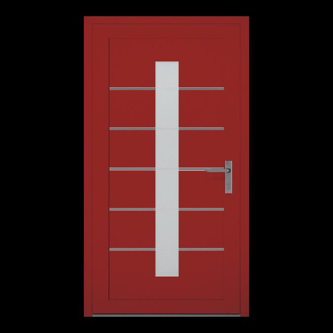 Drzwi zewnętrzne aluminiowe wzór-NT-09W