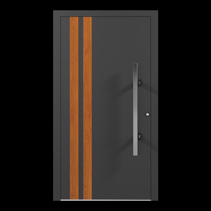 Drzwi zewnętrzne aluminiowe wzór-NT-10N