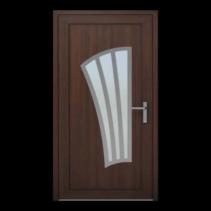 Drzwi zewnętrzne PVC wzór-NT-10W
