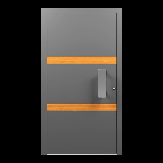 Drzwi zewnętrzne aluminiowe wzór-NT-11N
