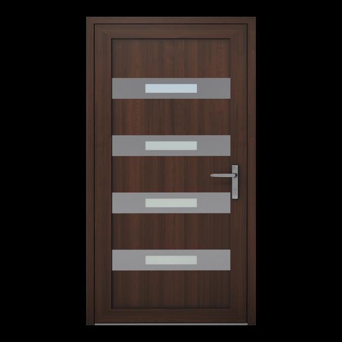 Drzwi zewnętrzne PVC wzór-NT-11W