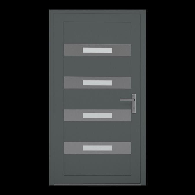 Drzwi zewnętrzne aluminiowe wzór-NT-11W