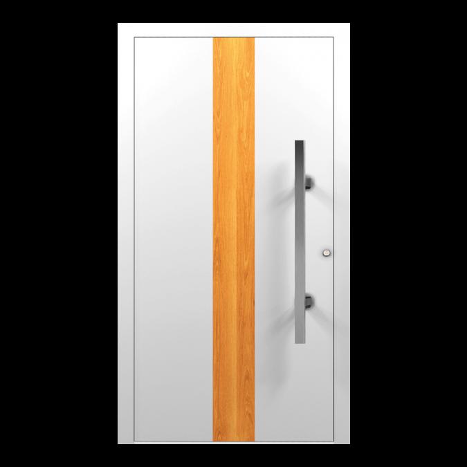 Drzwi zewnętrzne aluminiowe wzór-NT-12N