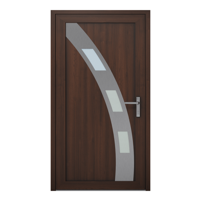 Drzwi zewnętrzne PVC wzór-NT-12W