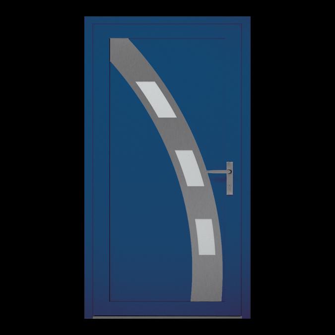 Drzwi zewnętrzne aluminiowe wzór-NT-12W