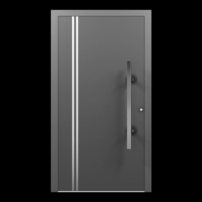 Drzwi zewnętrzne aluminiowe wzór-NT-13N