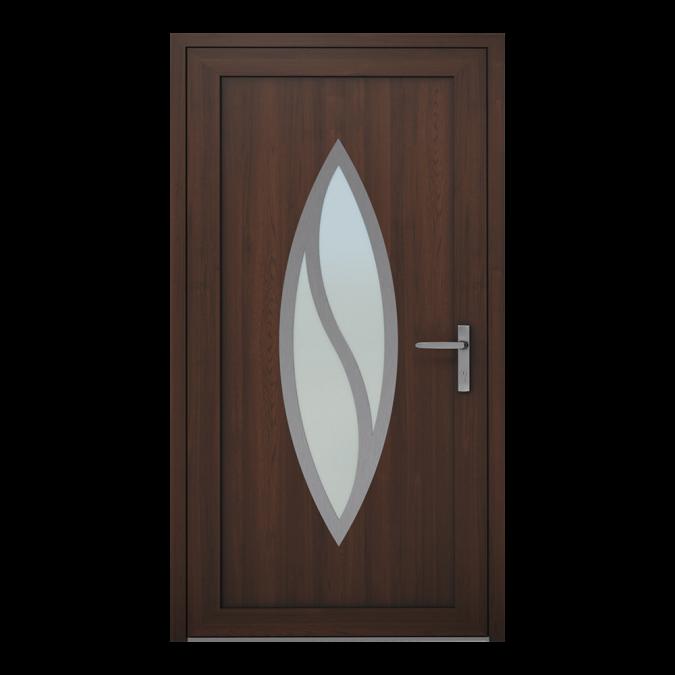 Drzwi zewnętrzne PVC wzór-NT-13W