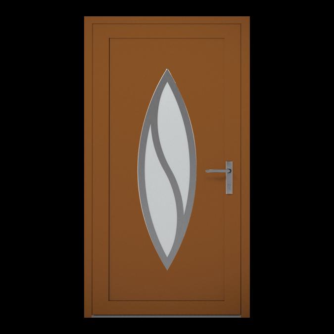Drzwi zewnętrzne aluminiowe wzór-NT-13W